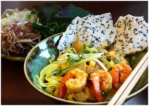 ベトナム料理ミークワンレストランダナン