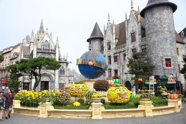中世ヨーロッパテーマパーク