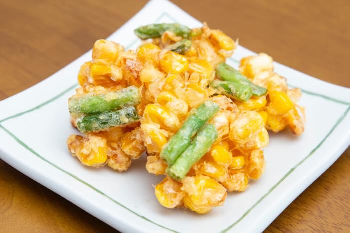 コーン天ぷら三好レストラン