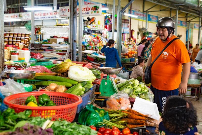 市場野菜ダナン観光レストラン