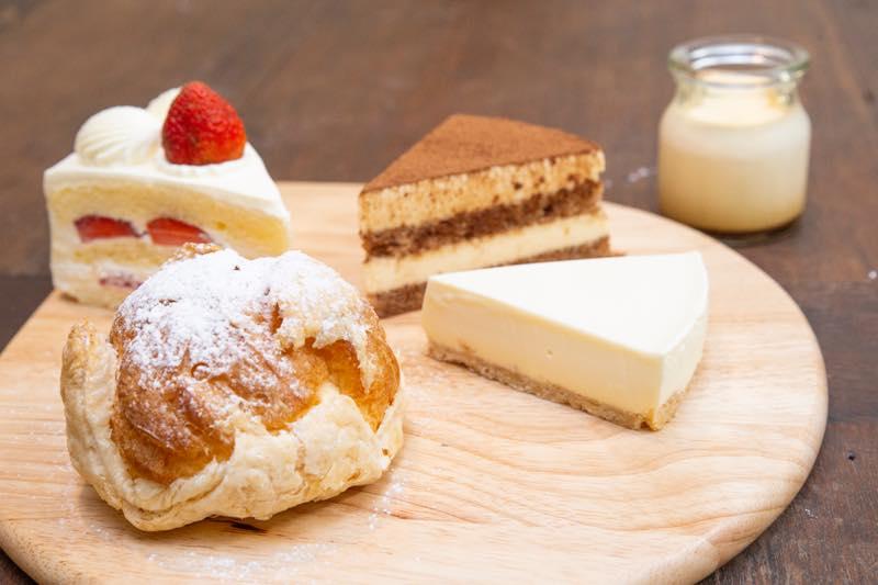 シュークリームティラミスチーズケーキショートケーキダナン