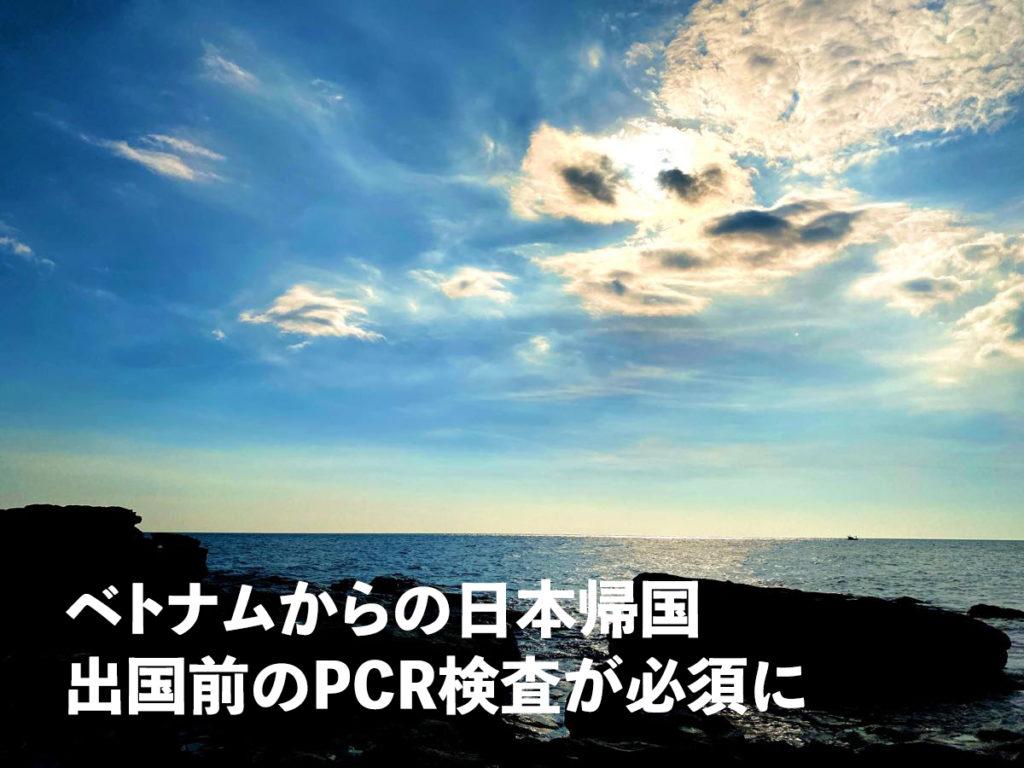 ベトナムから日本帰国コロナPCR検査